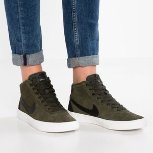 Nike Shoes - NIKE SB BRUIN HIGH SKATEBOARDING Casual SEQUOIA 6d3f04ec1